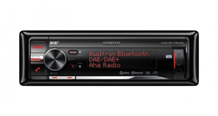 kenwood kdc bt73dab digitalradio mit bluetooth. Black Bedroom Furniture Sets. Home Design Ideas